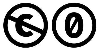 Símbolos Licencias Domino Público