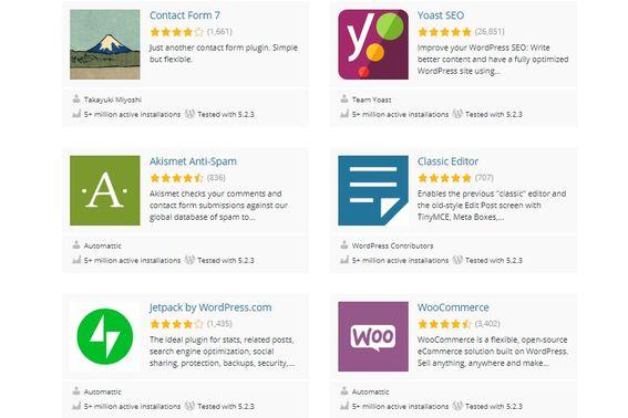 Por qué utilizar WordPress: Por sus plugins