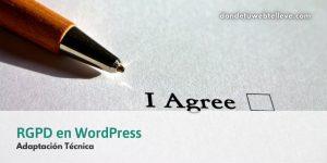 RGPD en WordPress. Adaptación Técnica