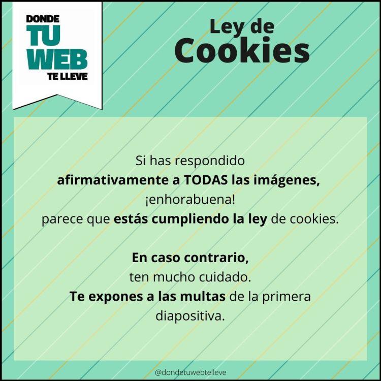 Ley de Cookies. ¿La cumples?