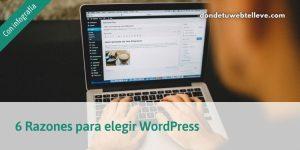 Razones por las que elegir WordPress