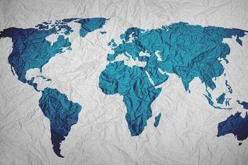Mapa del Mundo. En tu tienda online debes configurar a dónde vas a vender
