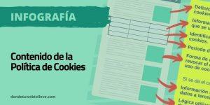 Contenido de la política de Cookies. Qué debe incluir