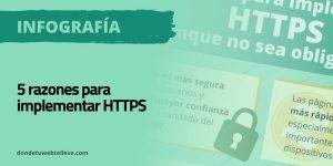 Razones para activar HTTPS en tu web aunque no sea obligatorio