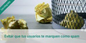 Evitar que te marquen como spam (infografía)